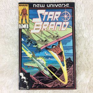 Marvels New Universe The Star Brand #3 Comic Book